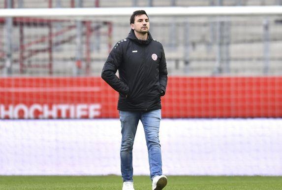 Jörn Nowak, Sportdirektor des Regionalliga-Tabellenführers Rot-Weiss Essen.