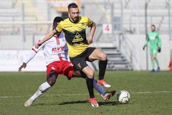 Stipe Batarilo (vorne) wird sich zur neuen Saison Fortuna Köln anschließen.
