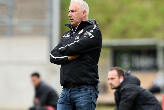Konnte nicht zufrieden sein: RWE-Coach Christian Neidhart.