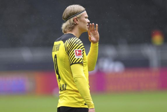 Erling Haaland steht beim BVB noch bis 2024 unter Vertrag.