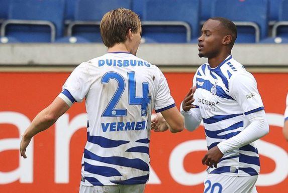 Vincent Vermeij (links) und Leroy-Jacques Mickels könnten bald gemeinsam für die Türkgücü auf Torejagd gehen.