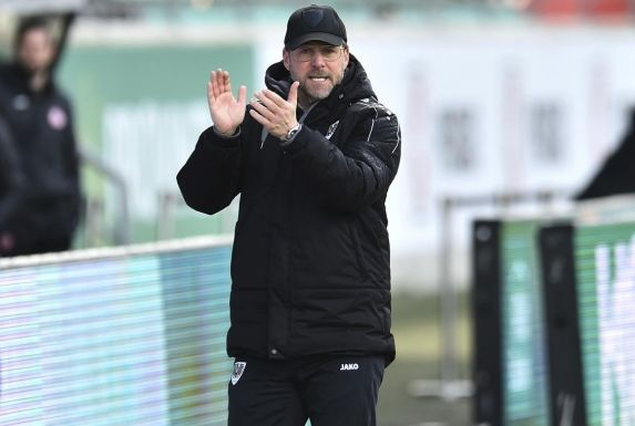 Preußen Münsters Trainer Sascha Hildmann.