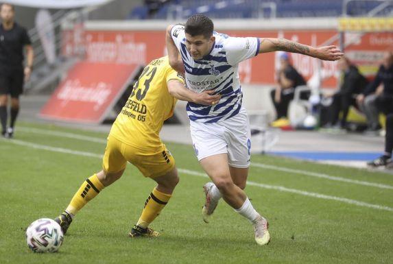 Darius Ghindovean bleibt dem MSV Duisburg erhalten.