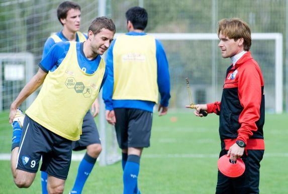 Auch Interims-Trainer Darius Wosz (rechts) konnte den Abstieg des VfL Bochum in der Saison 2009/10 nicht verhindern.
