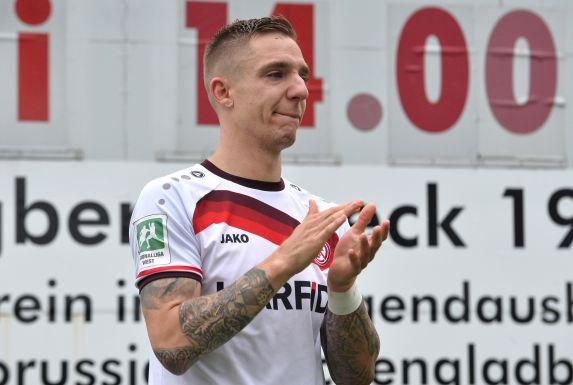 Marco Kehl-Gomez war nach dem verpassten Aufstieg niedergeschlagen.