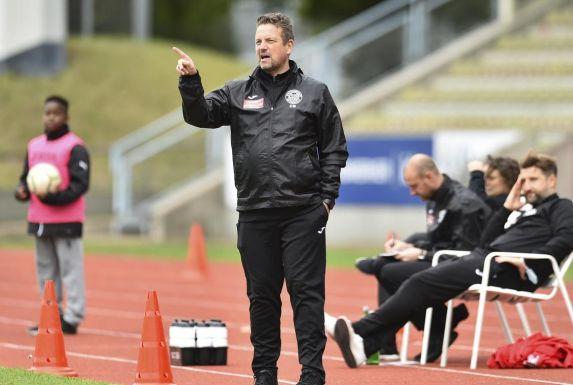 Christian Britscho, Trainer der SG Wattenscheid 09.
