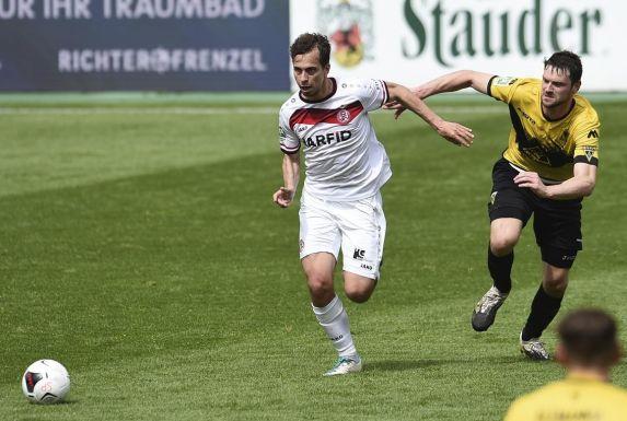 Maximilian Pronichev kam bei Rot-Weiss Essen erst im letzten Saisondrittel regelmäßig zum Einsatz.