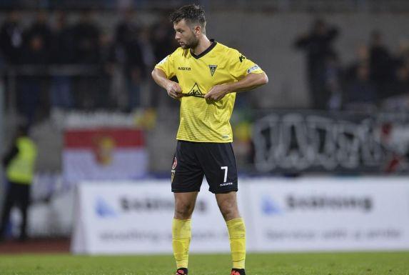 Florian Rüter zieht nach viereinhalb Jahren das Alemannia-Trikot aus.