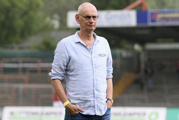 Hajo Sommers, Präsident des Regionalligisten Rot-Weiß Oberhausen.