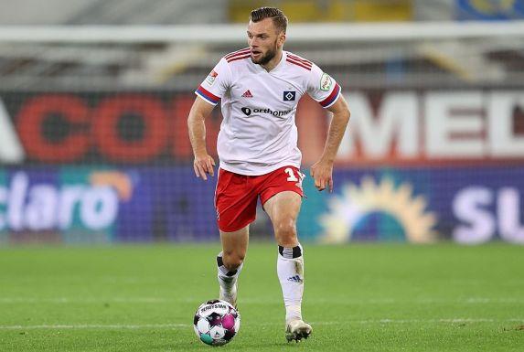 Manuel Wintzheimer ist die Entdeckung der Vorbereitung beim Hamburger SV. (