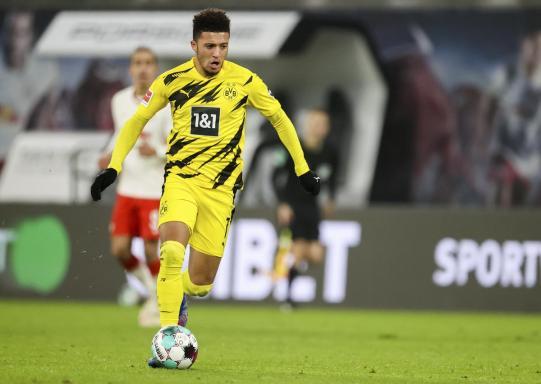 Jadon Sanchos Wechsel vom BVB zu Manchester United ist einer der teuersten der Bundesliga-Geschichte. Foto: dpa