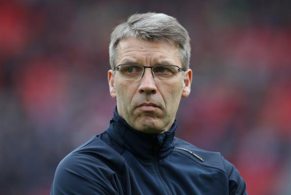Peter Knäbel spricht über die Auftaktpleite gegen den HSV (1:3).