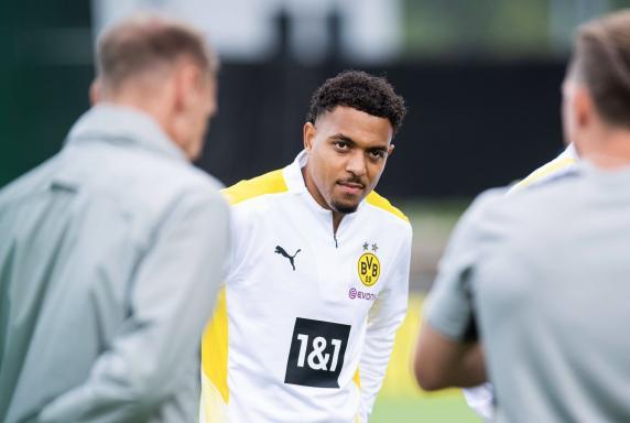 BVB: Neuzugang Donyell Malen im Mannschaftstraining