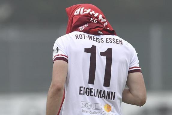 Rot-Weiss Essen und Simon Engelmann: Das passt einfach. Auch in Offenbach traf der Torjäger doppelt.