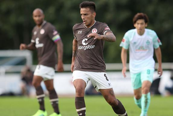 Rodrigo Zalazar war zuletzt an den FC St. Pauli ausgeliehen.