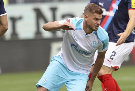 Simon Terodde vom FC Schalke 04. Foto: firo