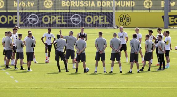 BVB: Nach Corona-Fällen: Vorbereitung fortgesetzt