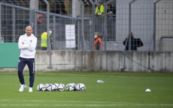 DFB-Pokal: Ex-MSV-Coach Lieberknecht mit Fehlstart in Darmstadt