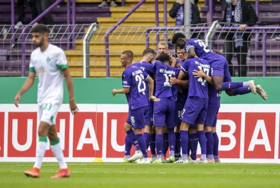 DFB-Pokal: 0:2! Werder-Blamage gegen Absteiger