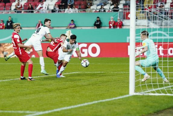DFB-Pokal: Gladbach erreicht die zweite Runde