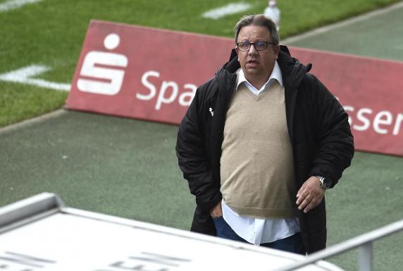 In voller Vorfreude auf den Regionalliga-Auftakt: Lippstadt-Sportchef Dirk Brökelmann.