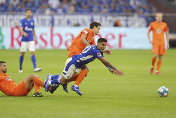 Nur 1:1! Schalke stolpert gegen Erzgebirge Aue