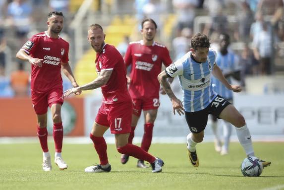 3. Liga: München-Derby endet 1:1, BVB II vor Verl oben