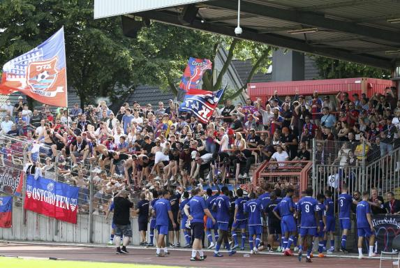 KFC Uerdingen: Trotz 0:6-Debakel: Fans feiern die Mannschaft