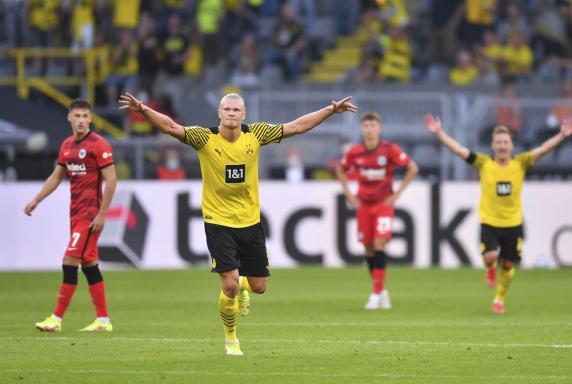 BVB: Furioser Haaland! Dortmund überrollt Frankfurt