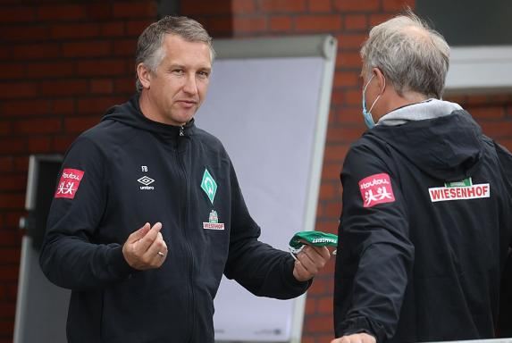 Bremen: Werder-Boss Bode stützt Baumann nach Fan-Kritik