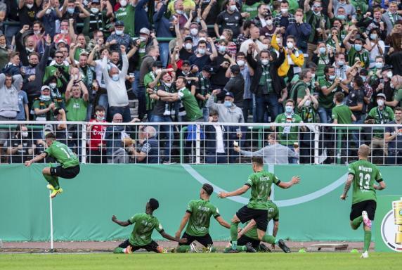 DFB-Pokal: Preußen Münster kommt am grünen Tisch weiter