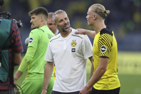 BVB-Trainer Rose: Rose: Haaland könnte beim BVB bleiben