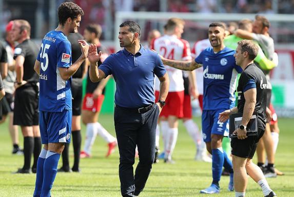 Enttäuschung, Schalke, Dimitrios Grammozis, S04, Pleite, Enttäuschung, Schalke, Dimitrios Grammozis, S04, Pleite