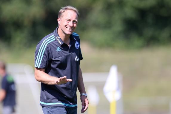 Trainer, Jürgen Luginger, Schalke 04 II, Saison 2015/2016, Trainer, Jürgen Luginger, Schalke 04 II, Saison 2015/2016