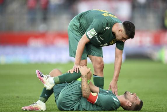 Straelen-Schock! Saison 2021/2022 für Kevin Wolze beendet