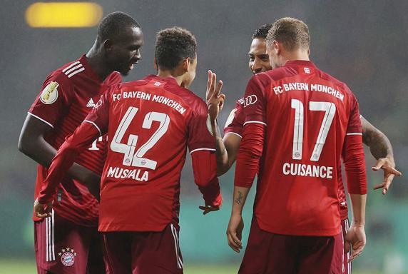 Pokal: Schützenfest - Bayern lässt Bremer SV keine Chance