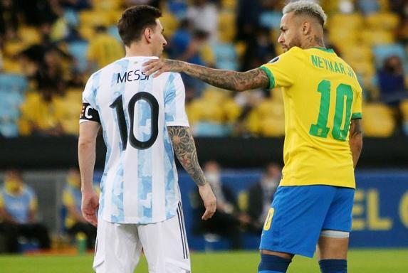 Es kracht in Südamerika: Neymar gegen Messi, Wut auf England