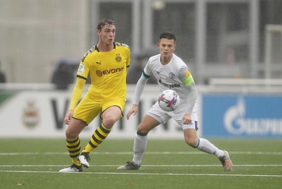 U17-Ligapokal-Finale: BVB-Trainer schießt gegen Schalke