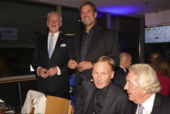 Jürgen Klopp, Hans Joachim Watzke, Jürgen Klopp, Hans Joachim Watzke