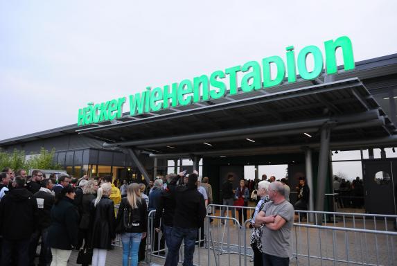 Symbol, SV Rödinghausen, Saison 2014/15, Häcker Wiehenstadion, Symbol, SV Rödinghausen, Saison 2014/15, Häcker Wiehenstadion