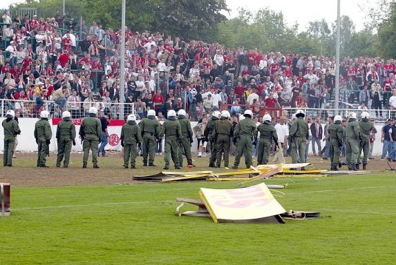 RWE in Münster: So erinnern sich die Spieler an den 18. Mai 2002