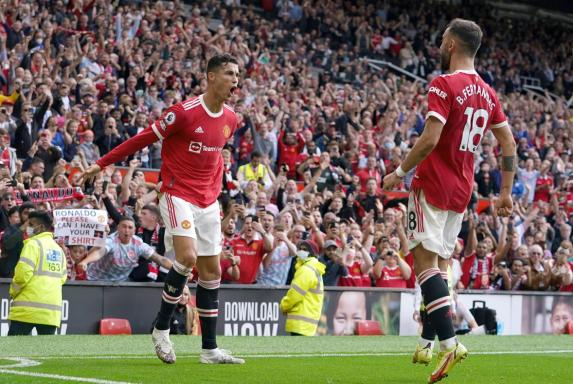 Ronaldo-Show bei Rückkehr: Superstar trifft doppelt für ManU