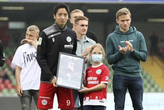 RWO: Ex-Stürmer Shun Terada kehrt nach Deutschland zurück