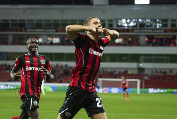 Nach Rückstand: Leverkusen startet mit Sieg in die Europa League
