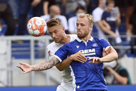 Schalke gegen KSC: Ex-S04-Stürmer duelliert sich mit Terodde