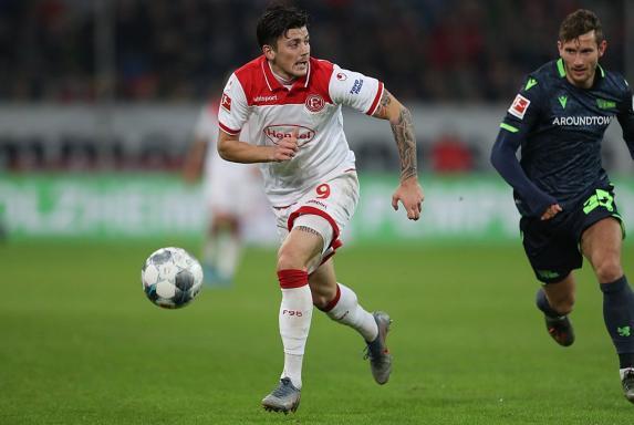 Fortuna Düsseldorf: Stürmer Kownacki erleidet Außenbandriss