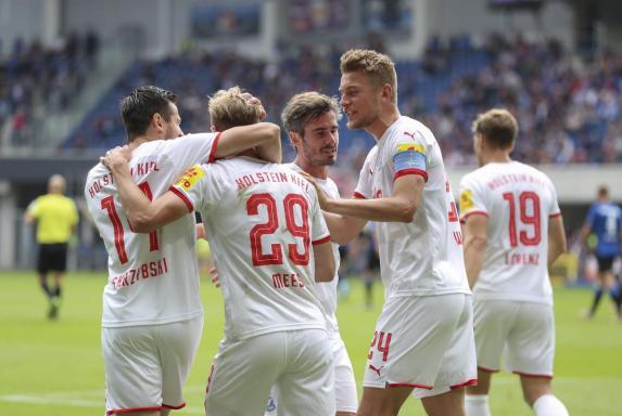 2. Liga: Kiel schlägt Paderborn - St. Pauli und Düsseldorf siegen