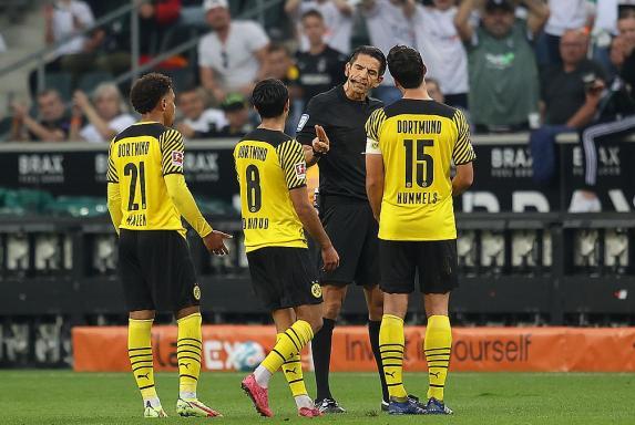 """Aytekin zu BVB-Platzverweis: """"Mindestmaß an Respekt verdient"""""""
