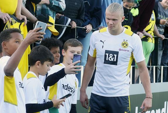 Champions League: BVB wohl wieder ohne Haaland