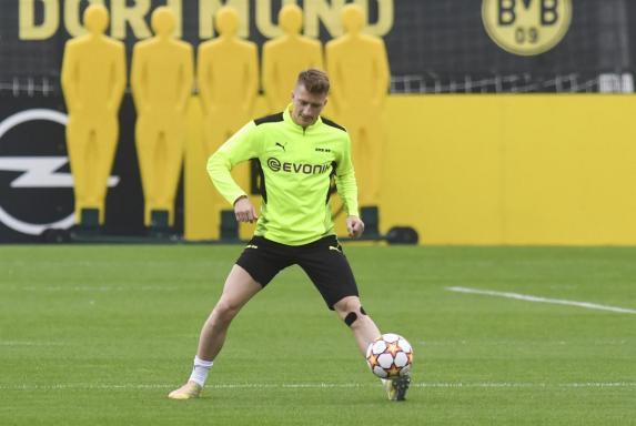 """BVB: Reus trainiert mit, aber """"es wird eng"""""""